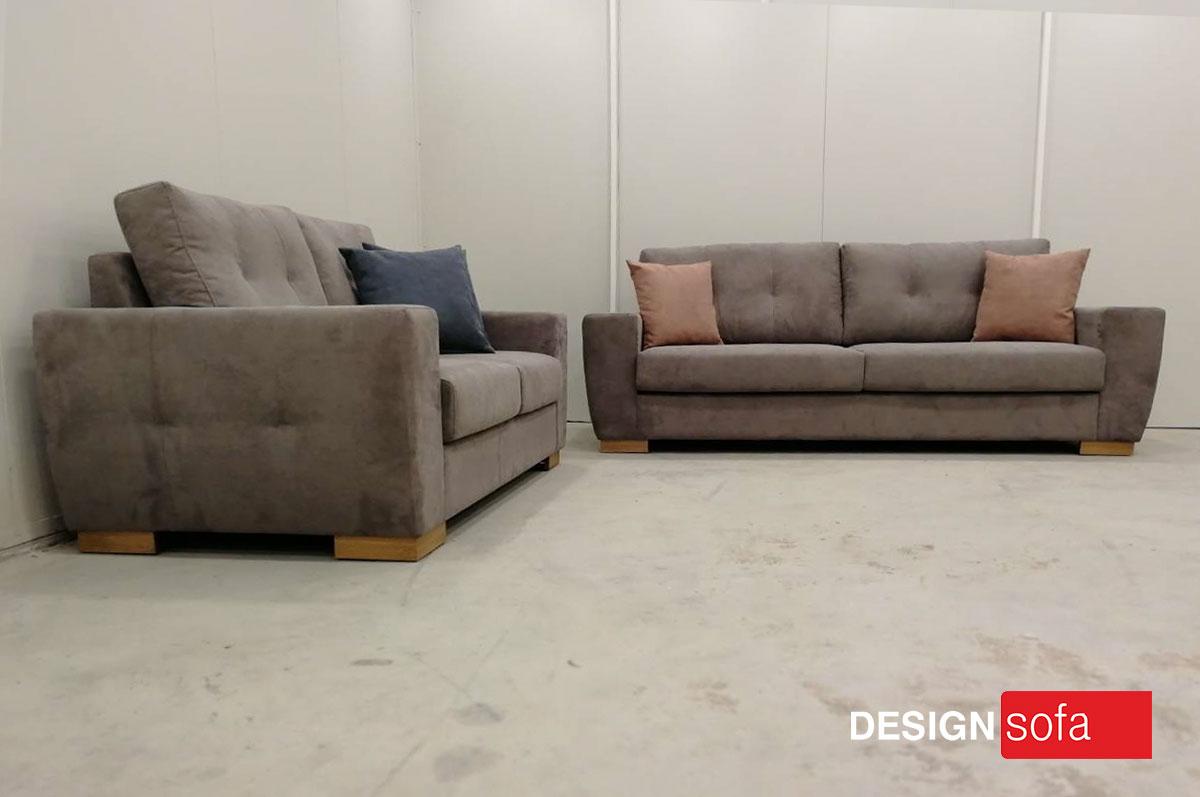 Budapest 3 Seater 2 Design Sofa