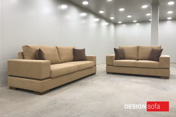 """OSLO"" 3 Seater – 2 Seater Overall Dimension  2.20 Χ 0.90m , 1.80 X 0.90m"