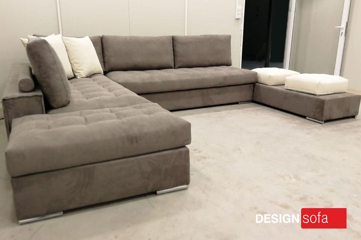 """CHAMONIX"" U Sofa 2.80 Χ 3.60 X 2.20m"
