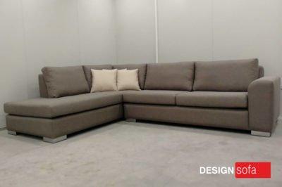 """LISBON"" Corner Sofa 2.70 Χ 2.00m & Memory Foam"